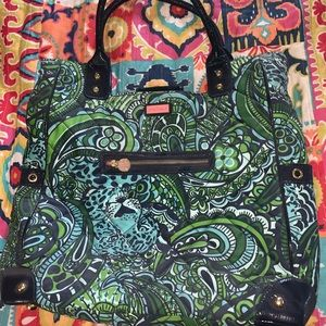 Lily Pulitzer Tote Purse (Gently used)